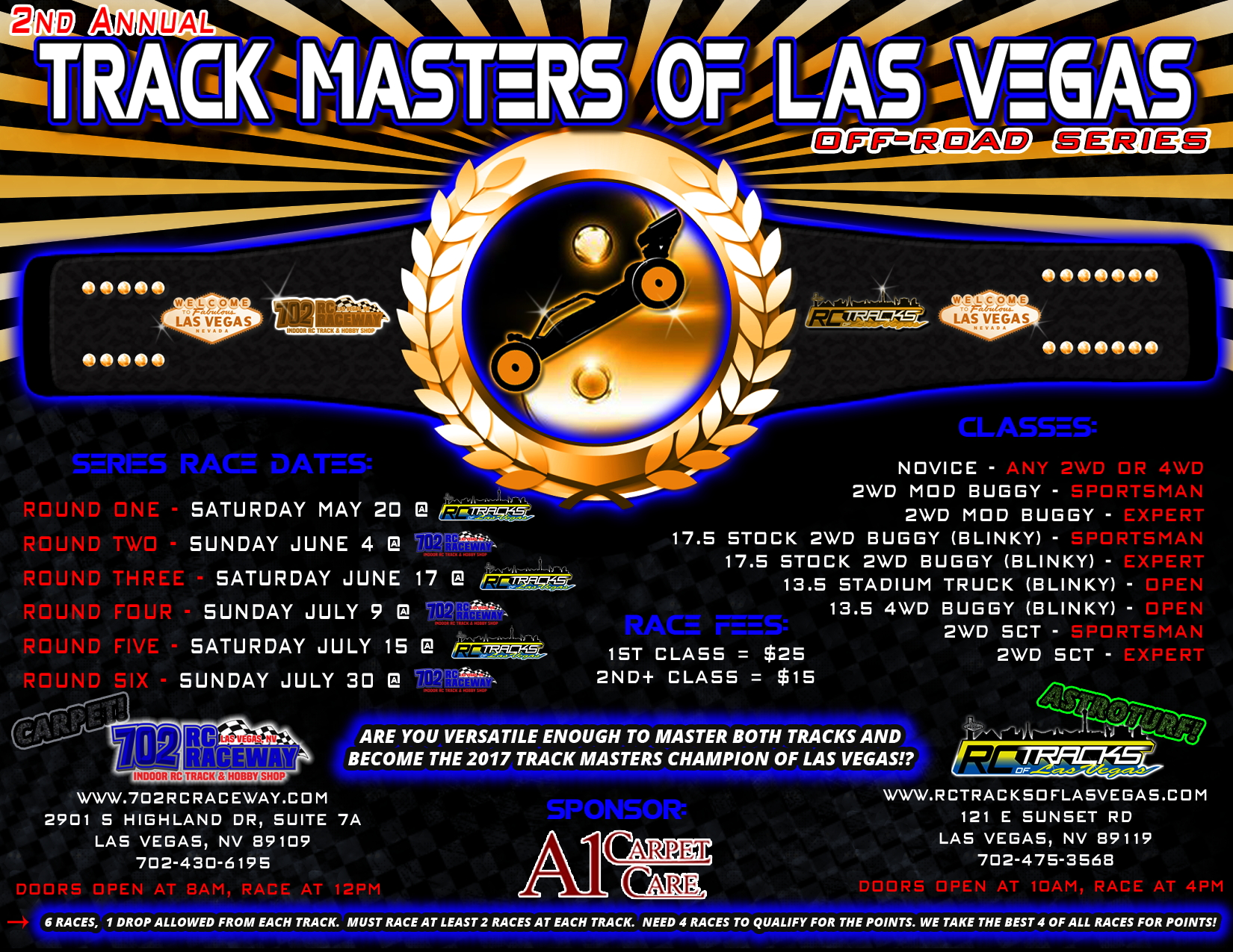 2nd Annual Track Masters of Las Vegas Off-Road Series